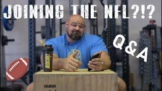 PLAYING IN THE NFL?!?! | QUESTION AND ANSWER | BRIAN SHAW