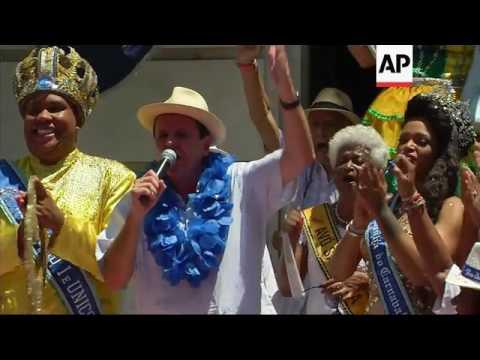 Rio kicks off Carnival celebrations