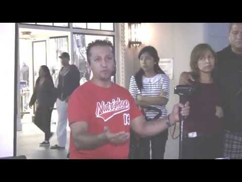 Educating against Islamization in the public square; Louis at L.A. tourist destination