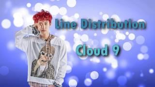 EXO - Cloud 9 (Line Distribution)