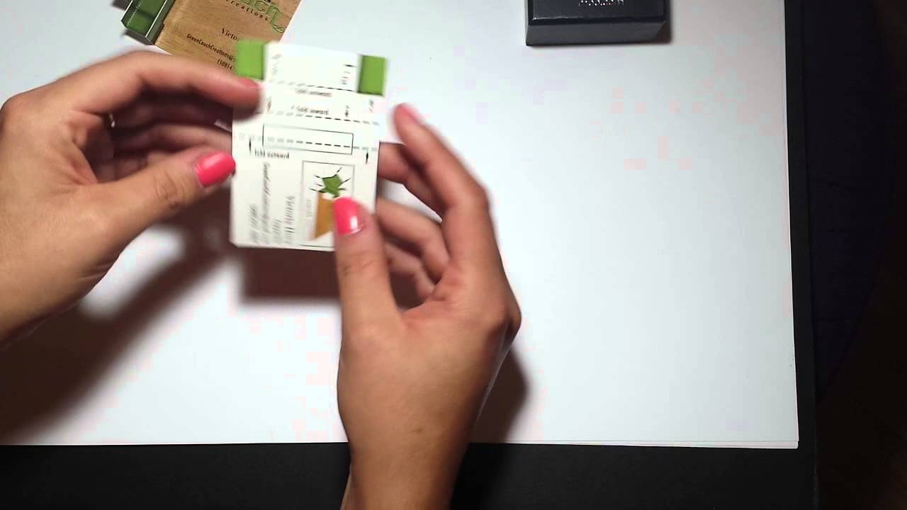 Pop-up Business Cards - YouTube