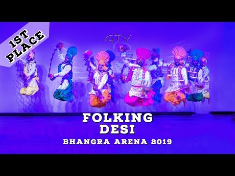 Folking Desi – First Place Music Category – Bhangra Arena 2019