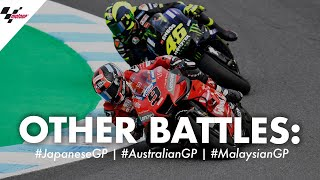 The other battles you missed! | 2019 #JapaneseGP #AustralianGP #MalaysianGP