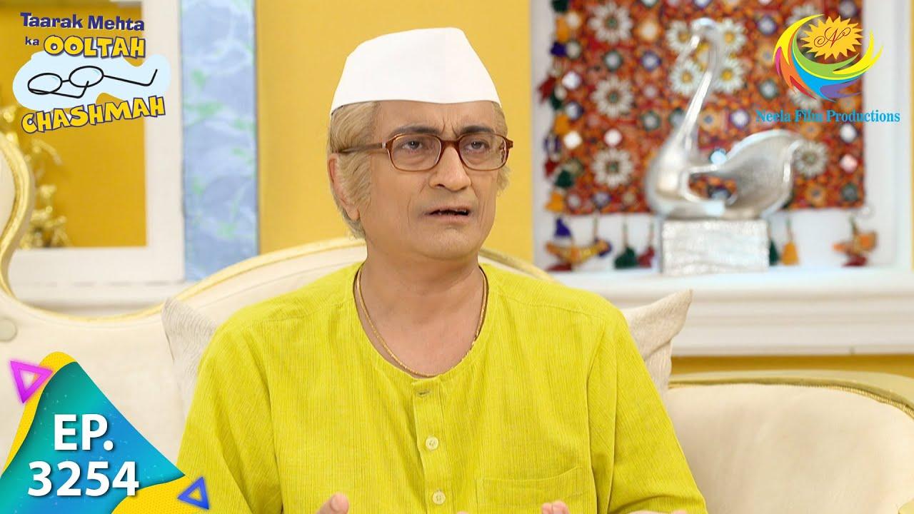 Download Taarak Mehta Ka Ooltah Chashmah - Ep 3254 - Full Episode - 15th September 2021