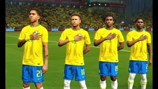 Brazil vs Switzerland 2018 | World Cup | Full Match | PES 2018 Gameplay HD