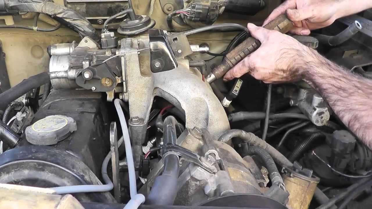 maxresdefault how to replace spark plugs and wires 4 cylinder ford ranger 1998 ford ranger 2.5 wiring diagram at readyjetset.co