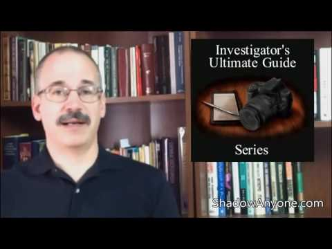 A Quick And Easy Counter Surveillance Trick Taught By A Surveillance Professional.
