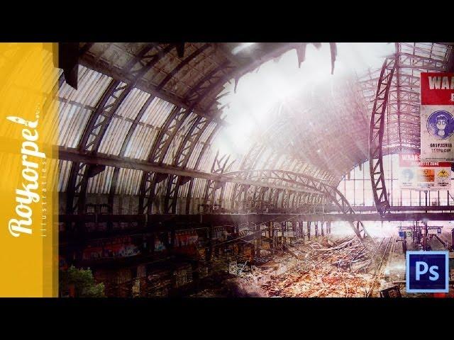 #Photoshop manipulation - Abandoned Amsterdam CS