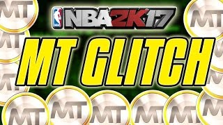NBA 2K17 MyTEAM MT GLITCH/EXPLOIT!! 50K MT TOTAL!! | How To Farm MT in NBA 2K17 MyTEAM (patched)