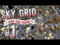 Minecraft :: SkyGrid Rules That Matter #1 - Hardcore Survival Cumulative Rules!