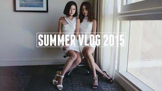 VLOG #7 | Summer '15- Vancouver, Honolulu, San Diego