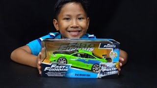 The Fast and The Furious Brian's Mitsubishi Eclipse 1:24 Jada Toys Unboxing
