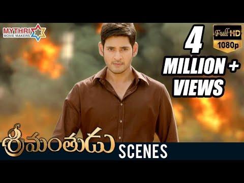Srimanthudu Movie Climax Scene | Mahesh...