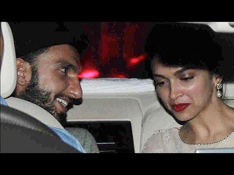 Ranveer Singh And Deepika Padukone At Befikre  Special Screening