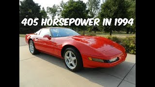 This $110,000 C4 Corvette ZR-1 is America