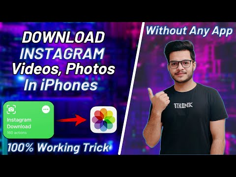 How to Download Instagram Videos on iPhone 2021 - Instagram Video Download Without App.