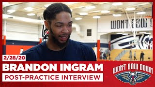 Brandon Ingram Talks Cavs, Importance Of Every Possession | New Orleans Pelicans