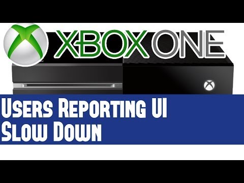 Xbox One News - X1 Users Report Slow Down - UI Impacted By Memory Dump Issues