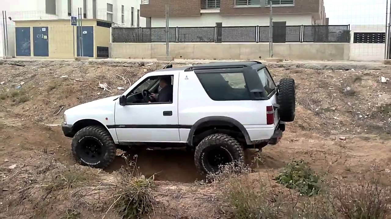 opel frontera 4x4 youtube