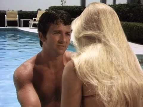 Charlene Tilton Red Hot in Swim Suit - Dallas