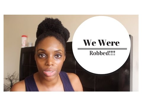 Burgled in Ghana