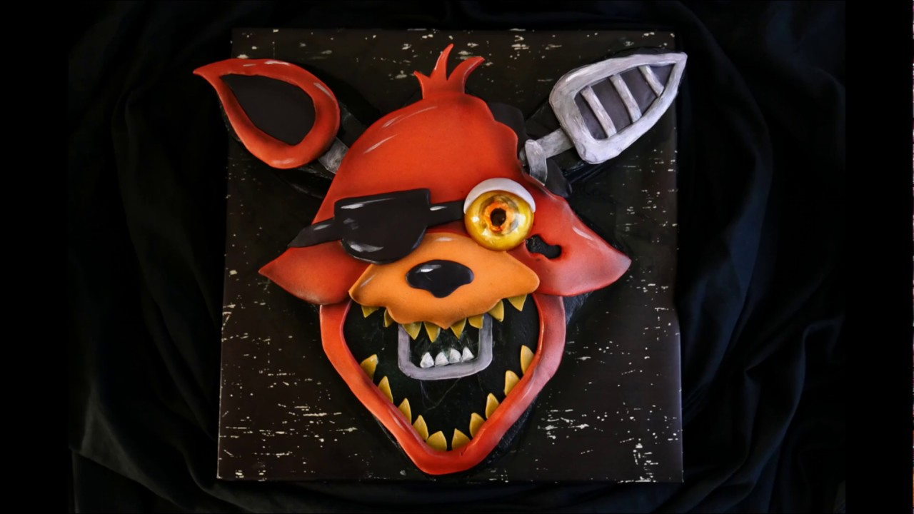 5 Nights At Foxys five nights at freddy's foxy cake with light up eye!