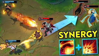 THE ULTIMATE SYNERGY MONTAGE... 200 IQ COMBOS (League of Legends)