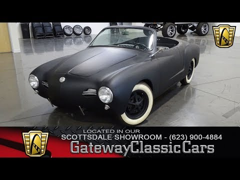 1959 Volkswagen Karmann Ghia, Gateway Classic Cars Scottsdale #343