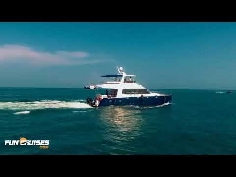 Luxury Catamaran Yacht in Goa - Fun Cruises Goa | Private Yacht Rentals & Hire