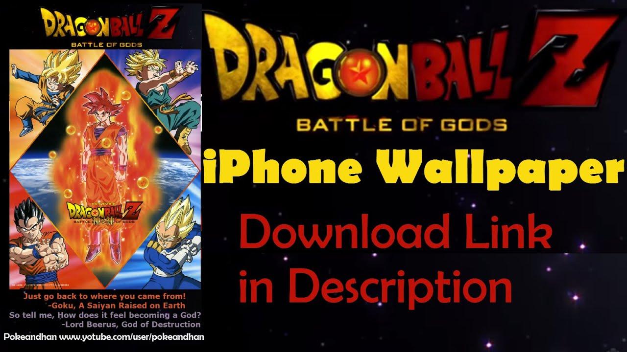 Making A Dragon Ball Z Battle Of Gods IPhone Wallpaper Speed Art