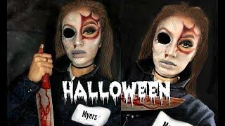 Female Michael Myers | Halloween Makeup Tutorial