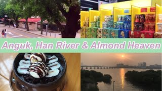 Vlog I Life in Korea, Going Anguk After a Year, Watching Sunset in Han River, 외국인의 한국 생활, 안국 가기, 한강