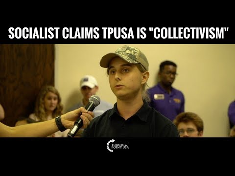 Socialist Claims Turning Point USA Is Collectivism, Fails Miserably!