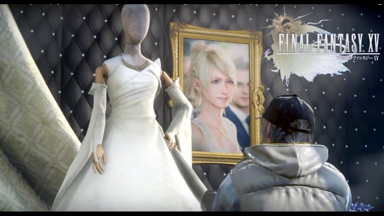 Final Fantasy Xv Symbol Of Peace See The Wedding Dress On Display Youtube