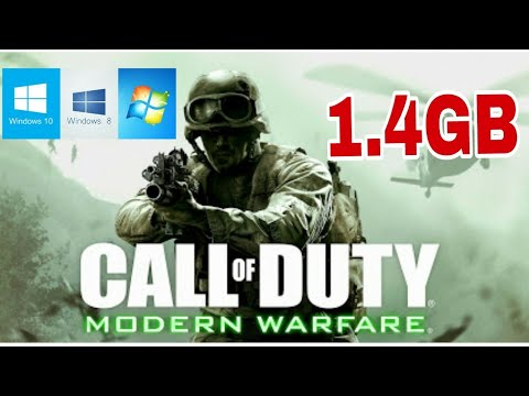 cod mw 1 highly compressed download