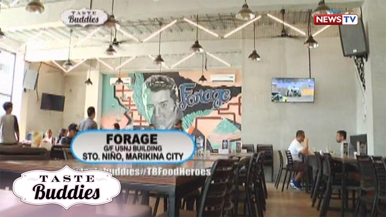 Taste Buddies: All around entertainment at Forage Bar and Resto