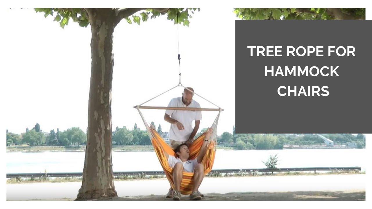 La Siesta Hammock Chair Garden Cushions Tree Rope For Chairs Youtube