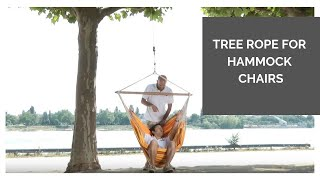 LA SIESTA Tree Rope for hammock chairs