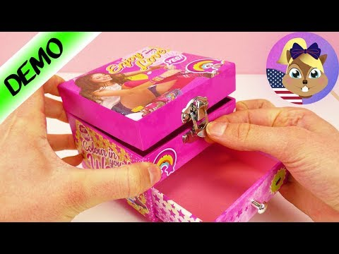 Jewelry box from Soy Luna | Cool Storage Box for Make up and Jewelry | Play with me