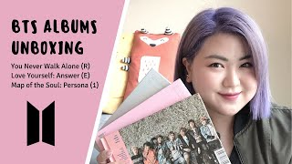 BTS Albums Unboxing: You Never Walk Alone, Love Yourself Answer, Persona | Beauty Book Corner