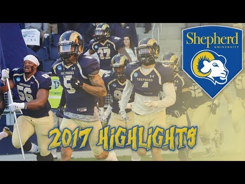Shepherd University 2017 - 2018 Football Highlights