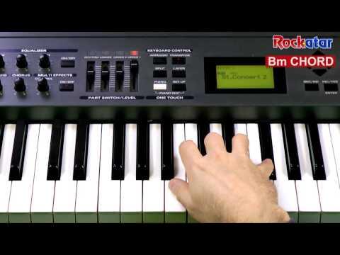 Bm chord on Keyboard