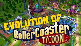 Graphical Evolution of RollerCoaster Tycoon (1999-2018)