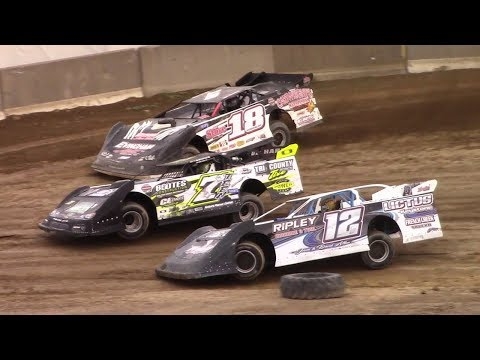 Super Late Model Heat Three | Old Bradford Speedway | 8-13-17
