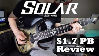 Solar Guitars S1.7 PB Review
