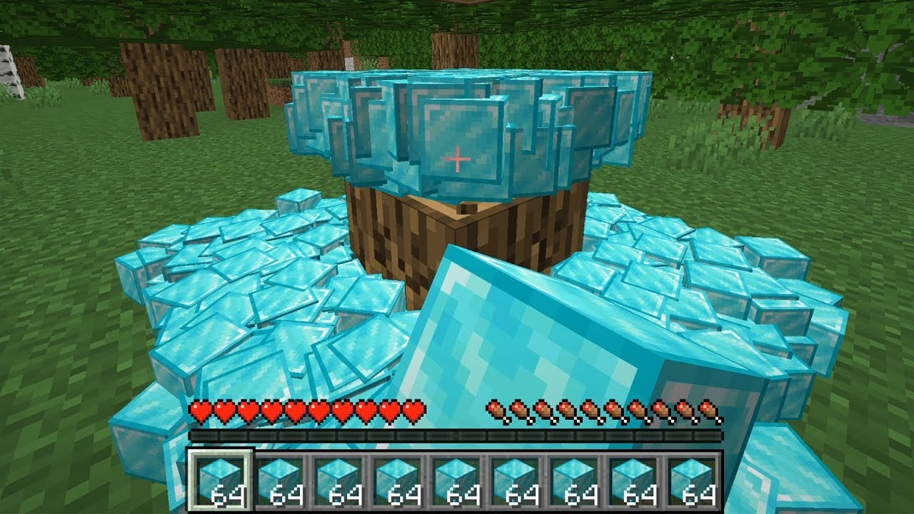 Minecraft, But Item Drops Are Random And Multiplied - YouTube