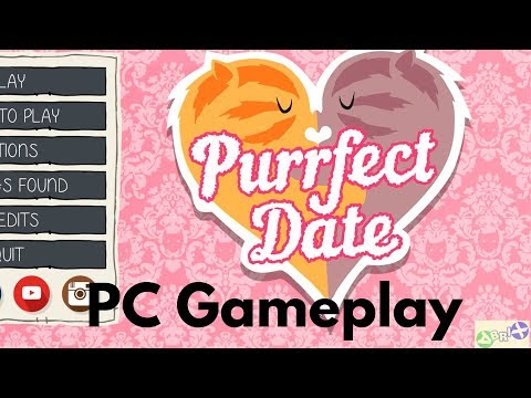 Purrfect Date PC Gameplay 1080p | Meowed |