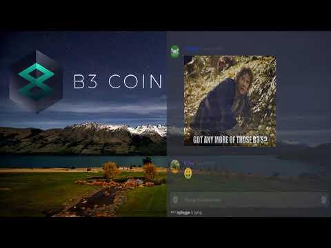 B3 Coin community meeting (April 18, 2018)