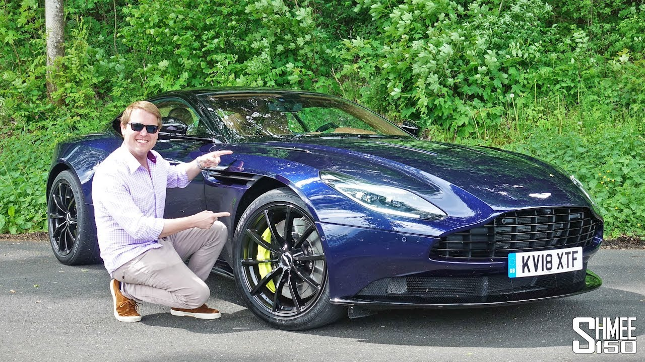 Aston Martin Db11 Amr 325km H Vmax Test Drive On The Autobahn Full Review Youtube