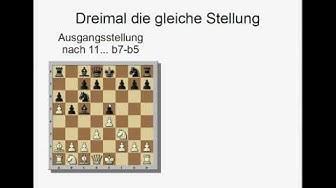 Kleine Schachregelkunde 3 - Wann ist eine Partie Remis